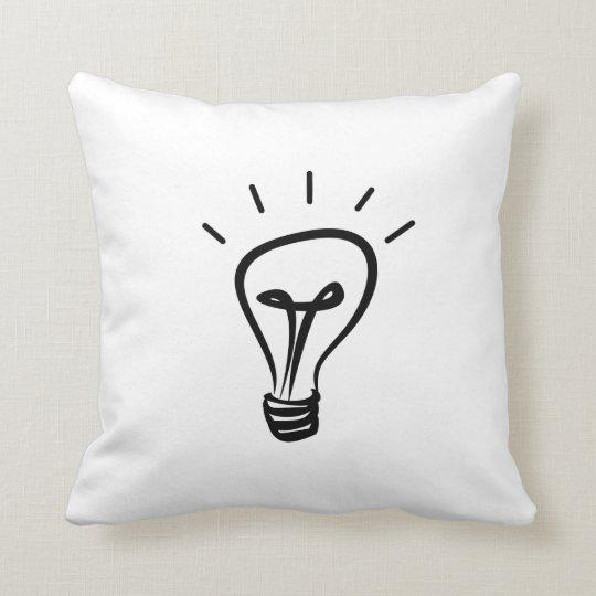 Light Bulb Idea Cushion