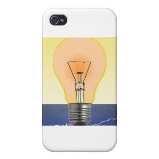 Light Bulb iPhone 4 Case