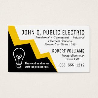 Light Bulb Lightning Bolt Electrician Electrical