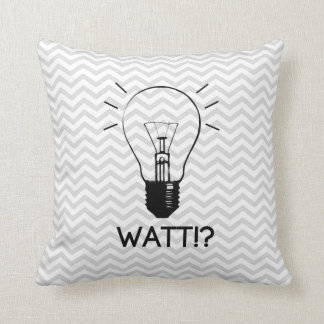 Light Bulb Pillow