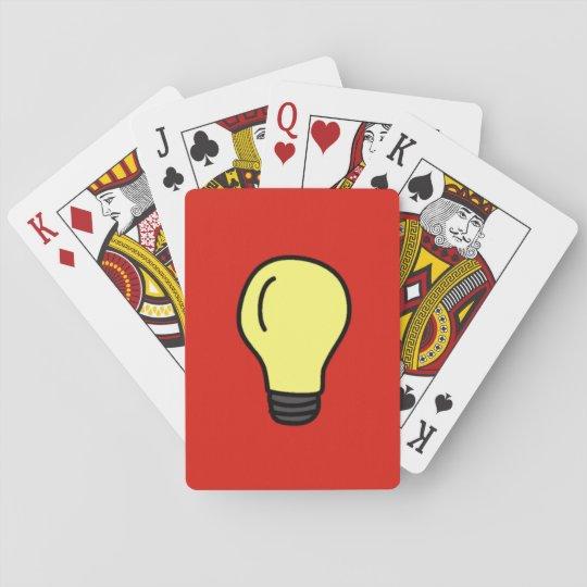 Light Bulb Playing Cards