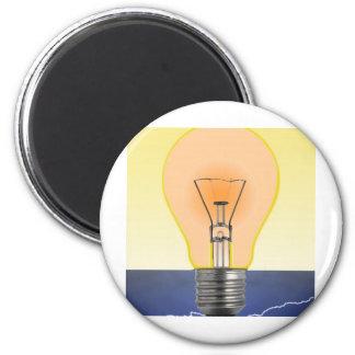 Light Bulb Refrigerator Magnets