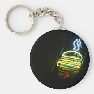 light burger keychains
