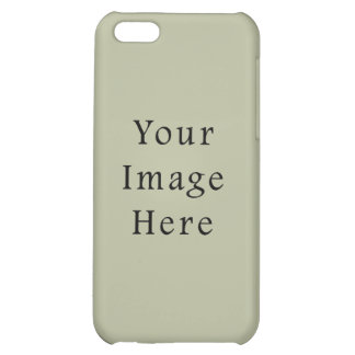Light Camouflage Green Color Trend Blank Template iPhone 5C Covers