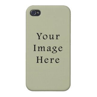 Light Camouflage Green Color Trend Blank Template iPhone 4/4S Covers
