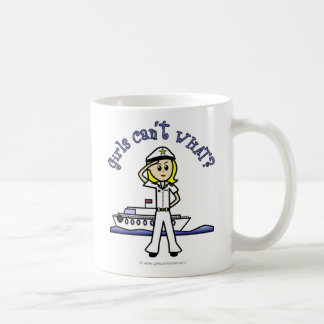 Light Captain Girl Coffee Mug