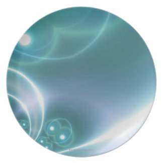 Light Circles Dinner Plates