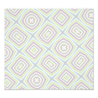 Light colored abstract pattern photo print