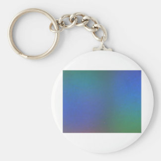 Light colored basic round button key ring