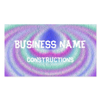 Light colored pattern of line pack of standard business cards