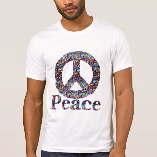 Light colored Peace T-shirt