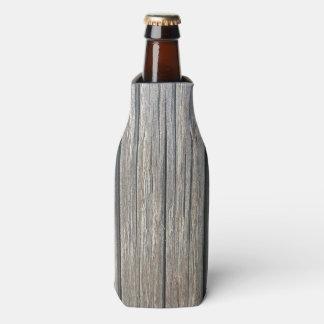 Light Colour Wood Pattern Bottle Cooler