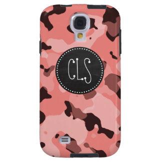 Light Coral Camo; Retro Chalkboard Galaxy S4 Case