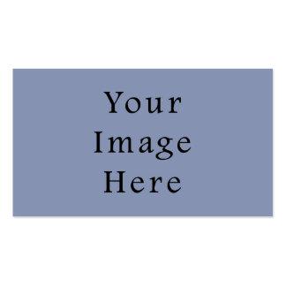 Light Cornflower Blue Color Trend Black Template Pack Of Standard Business Cards