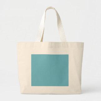 Light cyan hex code 6FBACD Bags