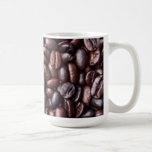 Light & Dark Roast Coffee Beans - Customized Blank Coffee Mug
