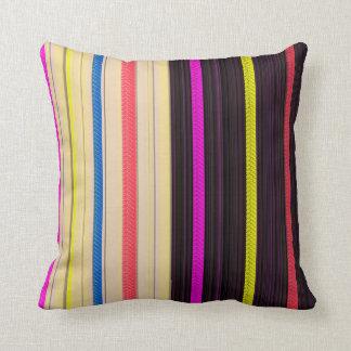 Light,Dark Vertical Colored Cushion