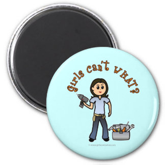 Light Do-It-Yourself Diva 6 Cm Round Magnet