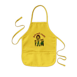 Light Doctor Girl Kids Apron