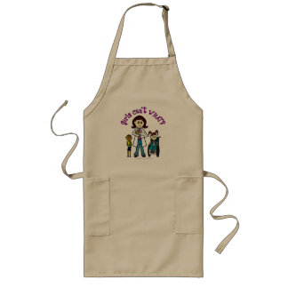 Light Doctor Girl Long Apron