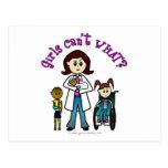 Light Doctor Girl Postcard