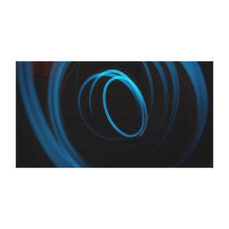 Light Effect | Blue | Modern Canvas Print