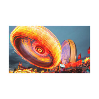 Light Effect |funfair  | Modern Canvas Print