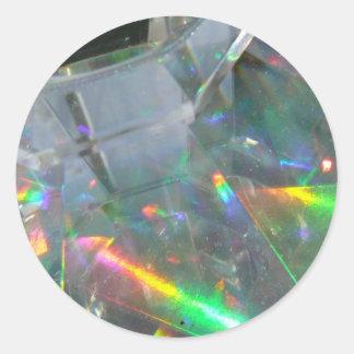 Light Fantastic! Round Sticker
