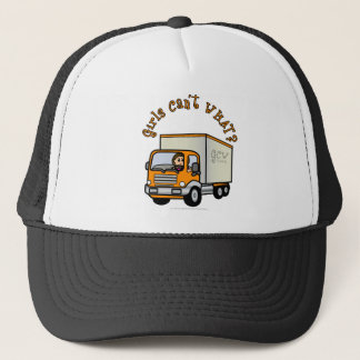 Light Female Truck Driver Trucker Hat