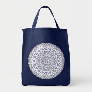 Light Flake Mandala Abstract - Bag