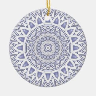 Light Flake Mandala Ornament