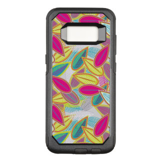 Light Floral Background OtterBox Commuter Samsung Galaxy S8 Case