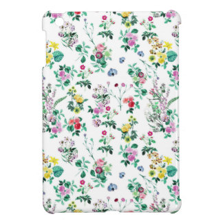 Light Floral Pattern Case For The iPad Mini