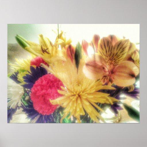 light flowers gathering poster
