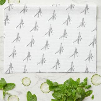 Light French Grey Design Kitchen Towel