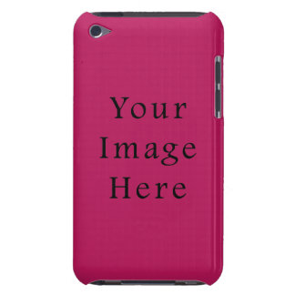 Light Fuchsia Purple Pink Color Trend Template iPod Touch Cover
