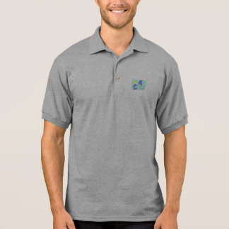 Light Gentle Soft Abstract Polo Shirts