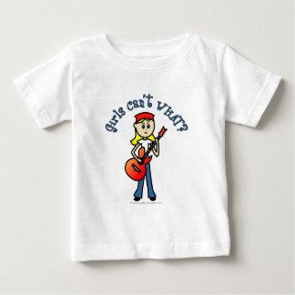 Light Girl Guitar Player T-shirt