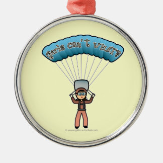 Light Girl Sky Diver Christmas Ornament