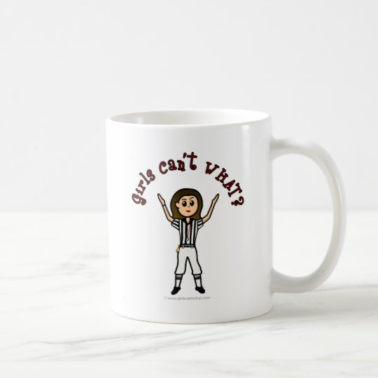 Light Girls Football Referee Coffee Mug