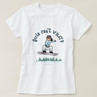Light Girls Snowboarding Tshirts