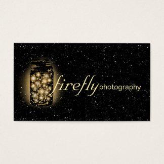 Light Glowing Jar Of Fireflies With Night Stars