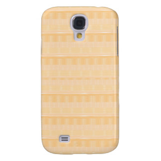Light GOLD Strip ART: DIY suitable add TEXT IMAGE Galaxy S4 Cover