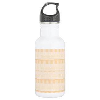 Light GOLD Strip ART: DIY suitable add TEXT IMAGE 18oz Water Bottle