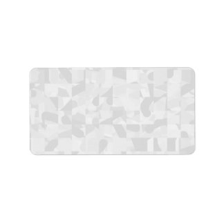 Light Gray Abstract Pattern. Label