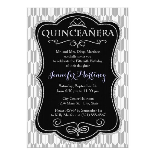 Light Gray and White Arrow Tails Personalized Invitations