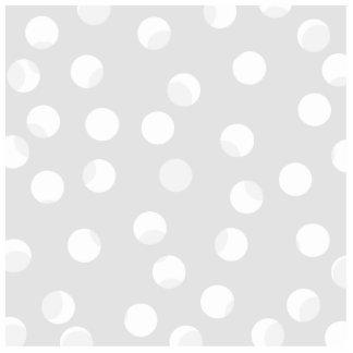 Light gray and white dotty pattern photo cutout