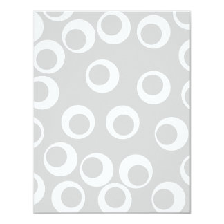 Light gray and white retro pattern. personalized announcements