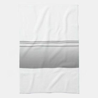 Light Gray. Elegant Design. Tea Towel