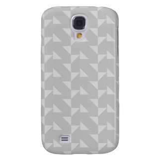 Light Gray Geometric Abstract Pern. Galaxy S4 Case
